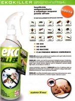 EkoKiller Insetticida antiparassitario pronto all'uso 750ml