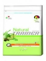 Natural Trainer Adult Maxi con Pollo Fresco,Riso e Aloe Vera 3Kg.