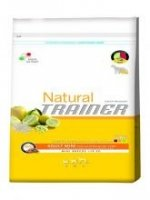 Natural Trainer Adult Mini con Pollo Fresco,Riso e Aloe Vera 2Kg.